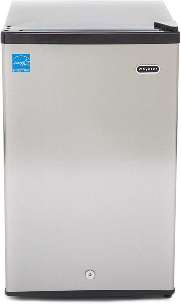 Whynter CUF-210SS Stainless Steel Upright Freezer