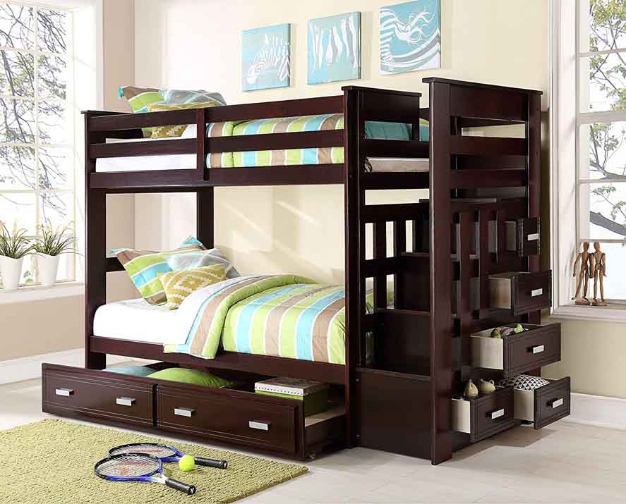 Allentown's Twin-Over-Twin Bunk Bed