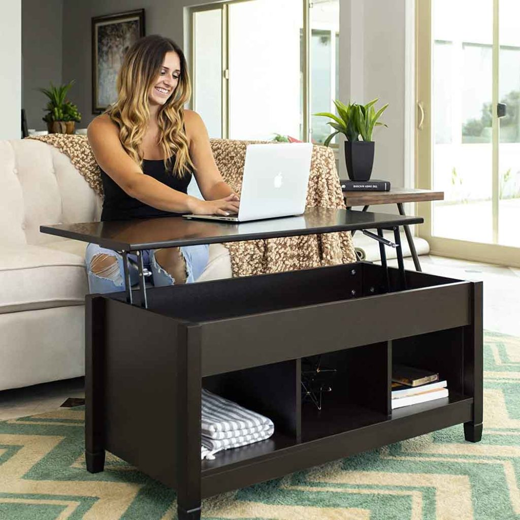 BEST CHOICE LIFT-TOP COFFEE TABLE 2