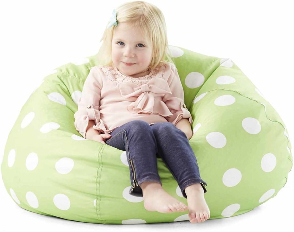 Big Joe Polka Dot Bean Bag Chair 2