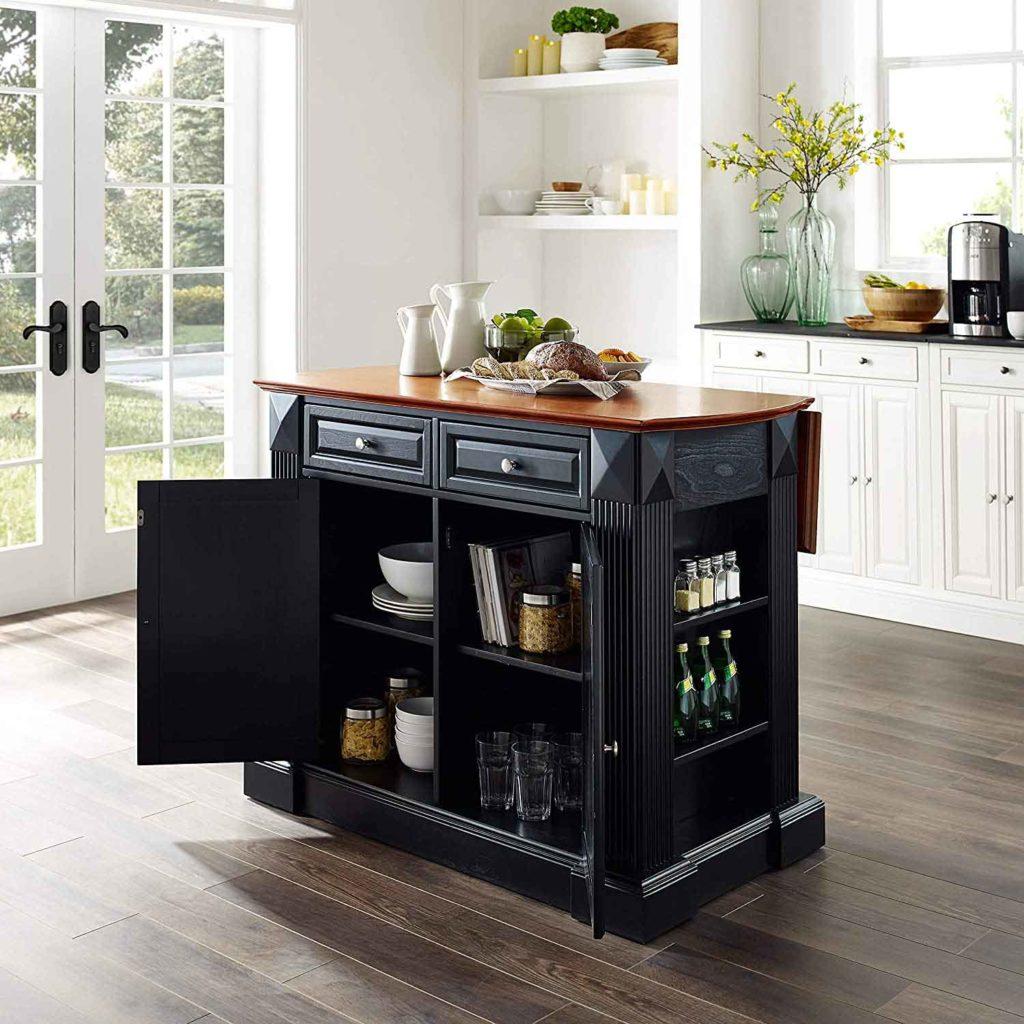 Crosley Furniture Drop Leaf Kitchen Island