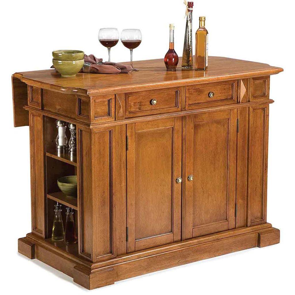 Home Styles Americana Oak Kitchen Island