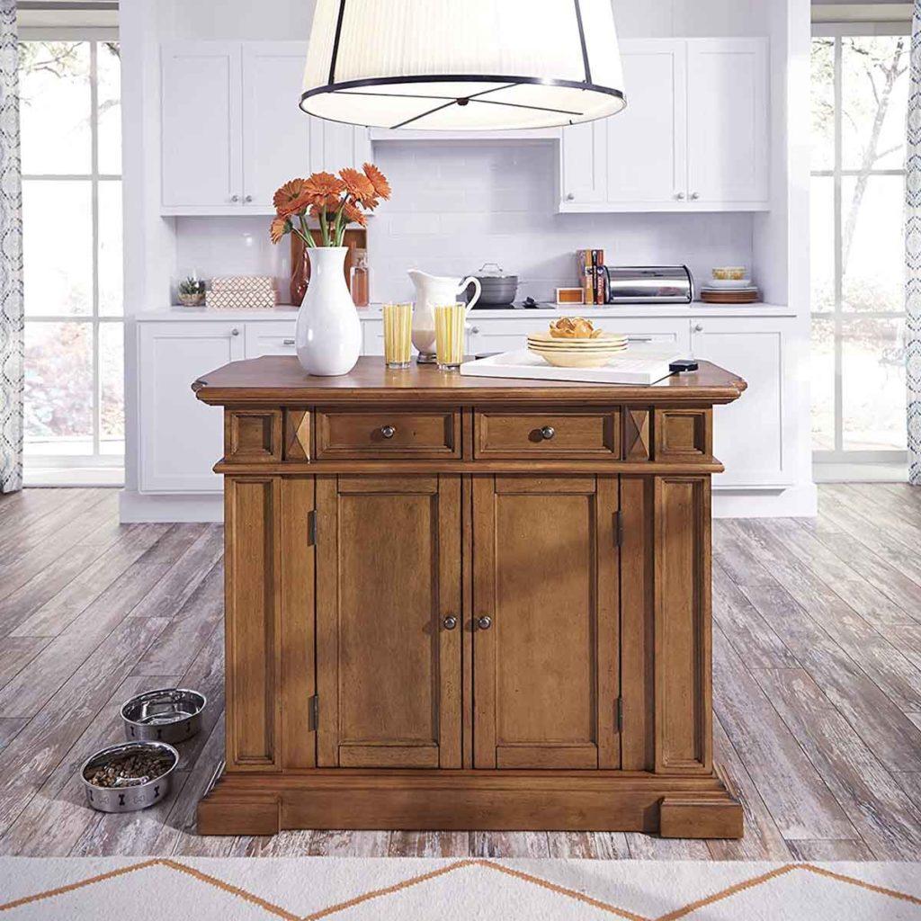 Home Styles Americana Oak Kitchen Island 3
