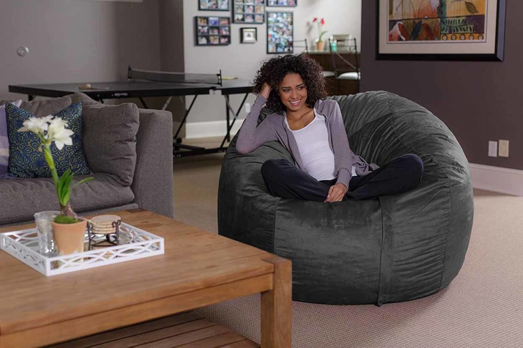 Plush Ultra Soft Bean Bags Chairs