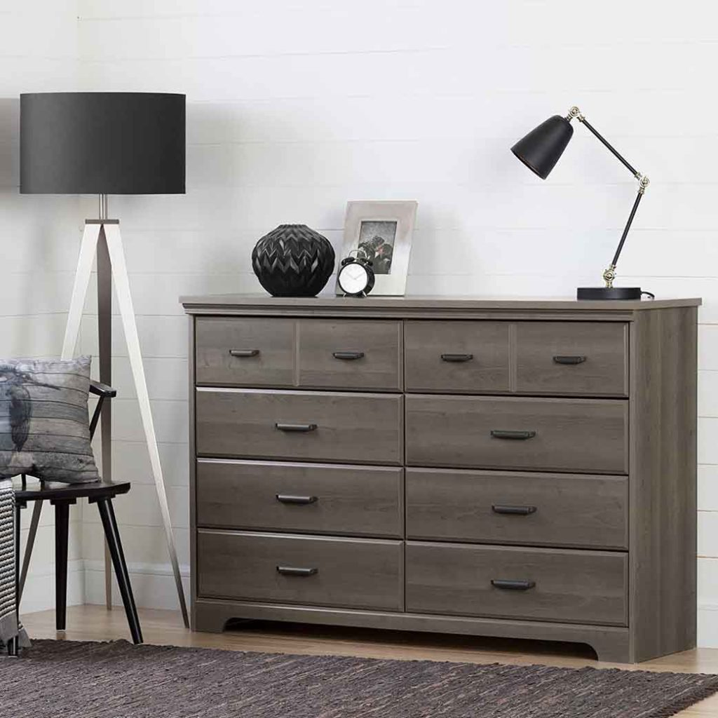 South Shore Versa Collection 8 Drawer Double Dresser 2