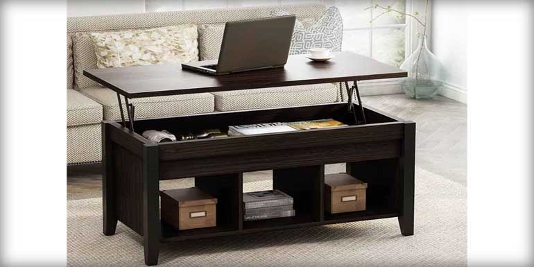 Tribesigns Lift-Top Coffee Table