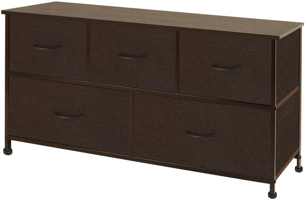 WLIVE DRESSER WITH 5 DRAWERS