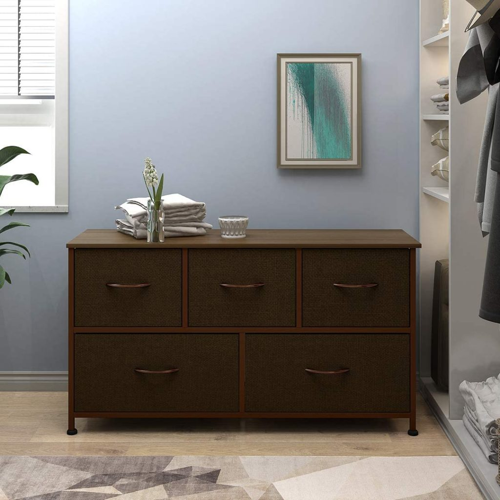 WLIVE DRESSER WITH 5 DRAWERS 2