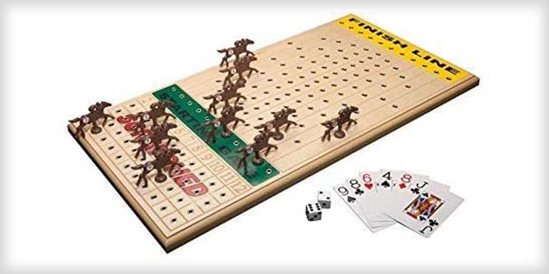 Across The Board Horse racing Game Top