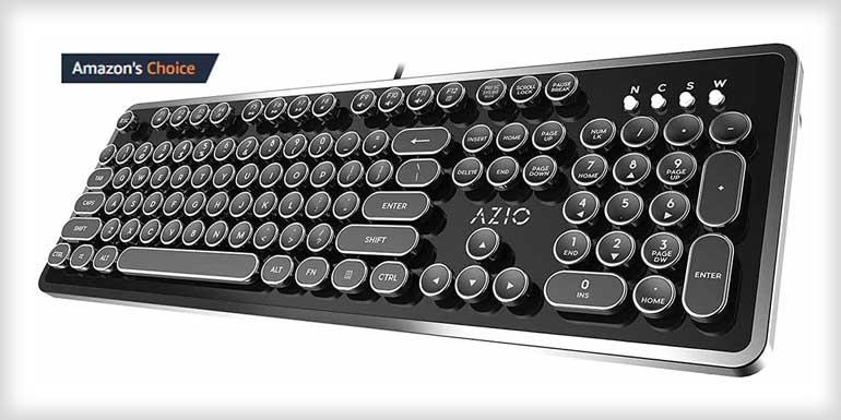 Azio Retro - USB Mechanical Keyboard