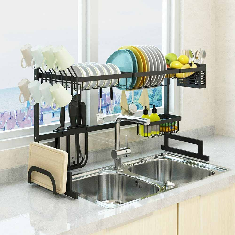 Dish Drying Rack Over Sink 2