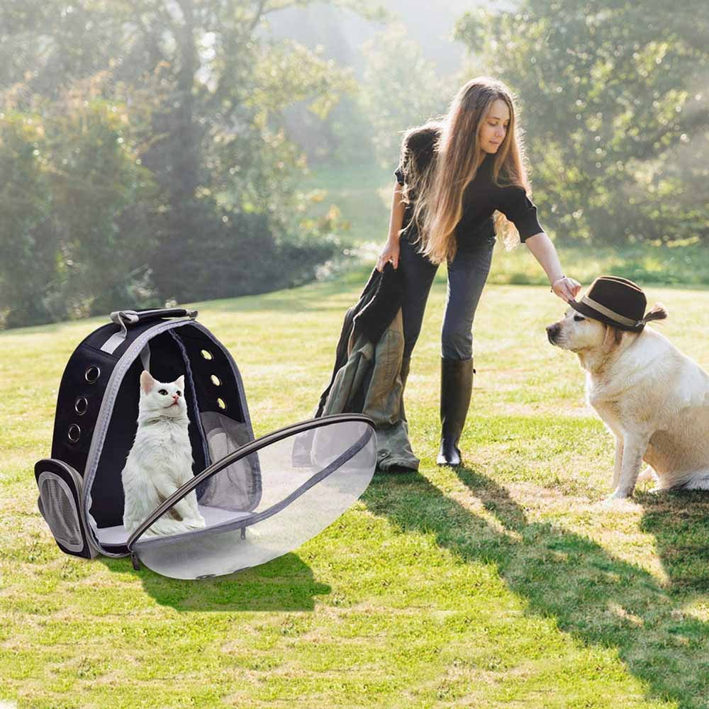 Henkelion Cat Backpack Carrier Bubble Bag 2