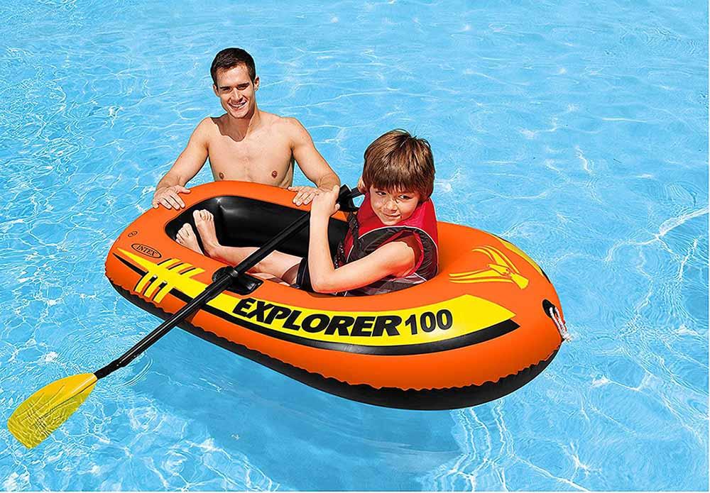 Intex Explorer Inflatable Boat Series 2
