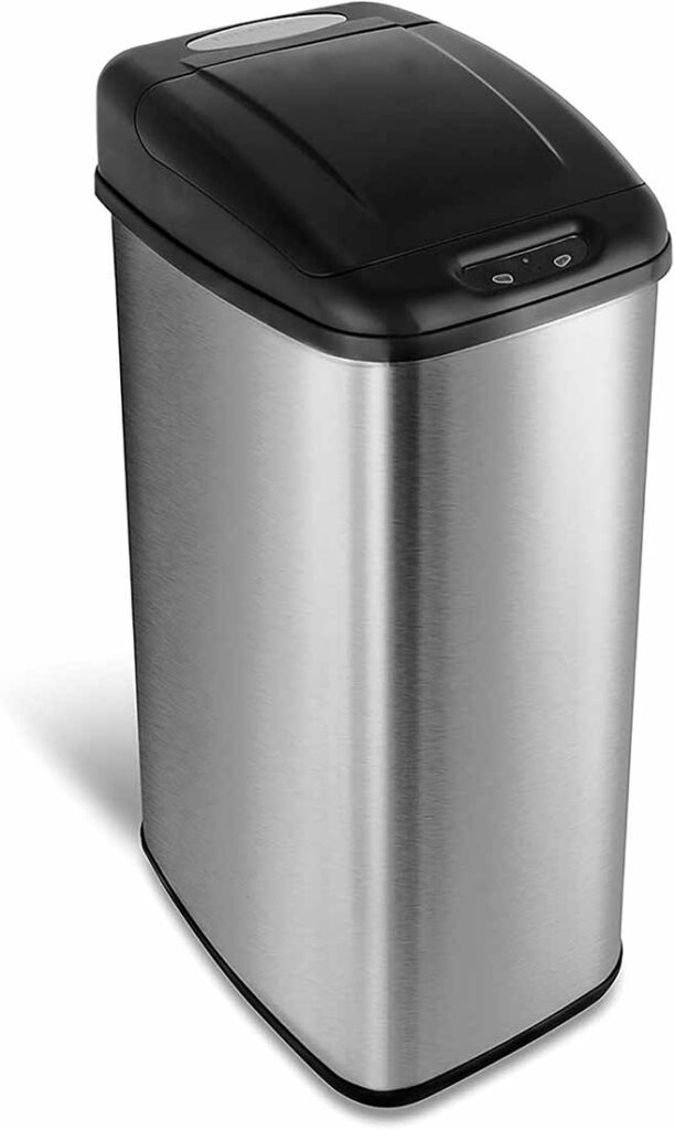 NINESTARS DZT-50-6 Automatic Touchless Trash Can
