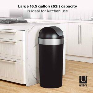 Umbra Venti  Swing Top Kitchen Trash Can