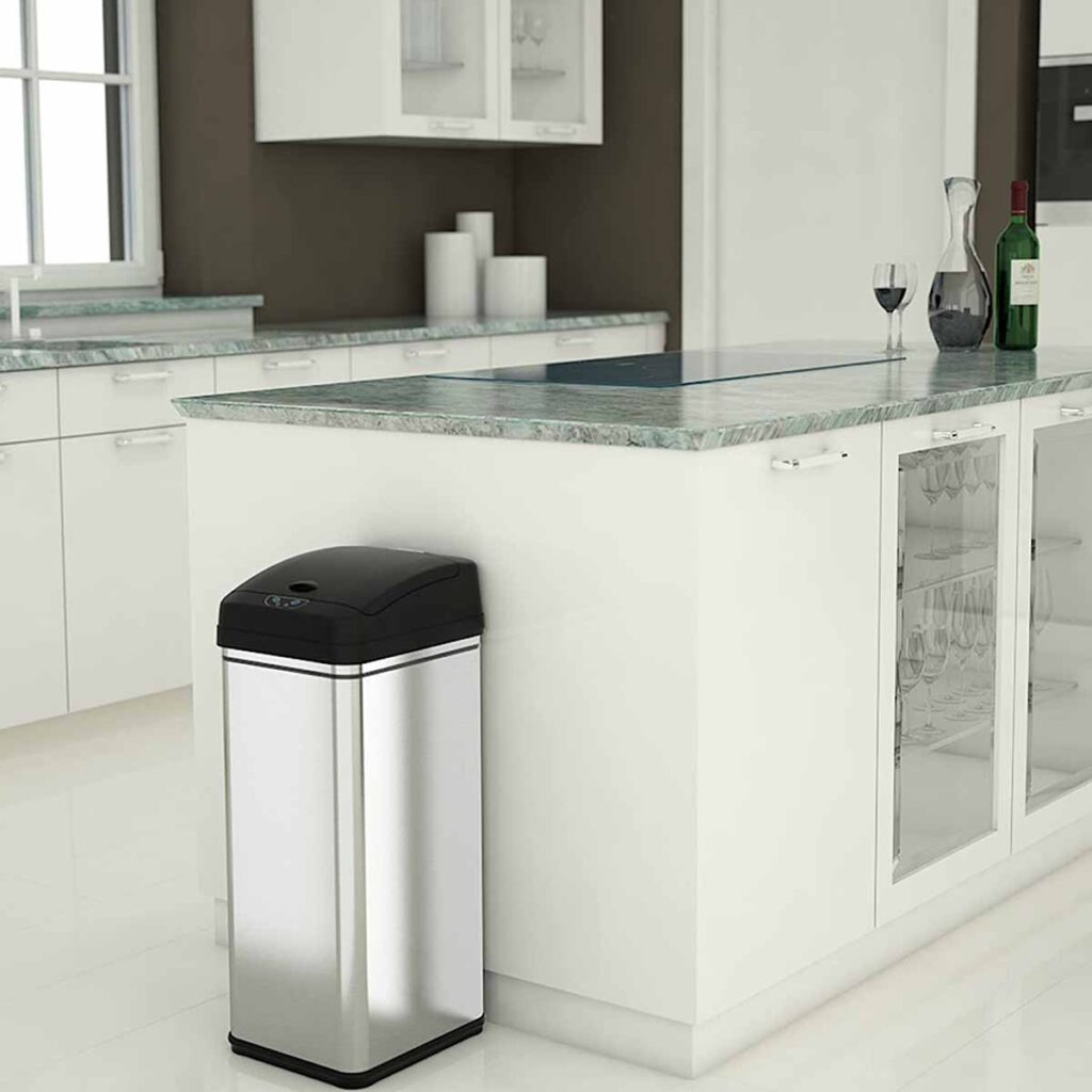 iTouchless Kitchen Trash Bin