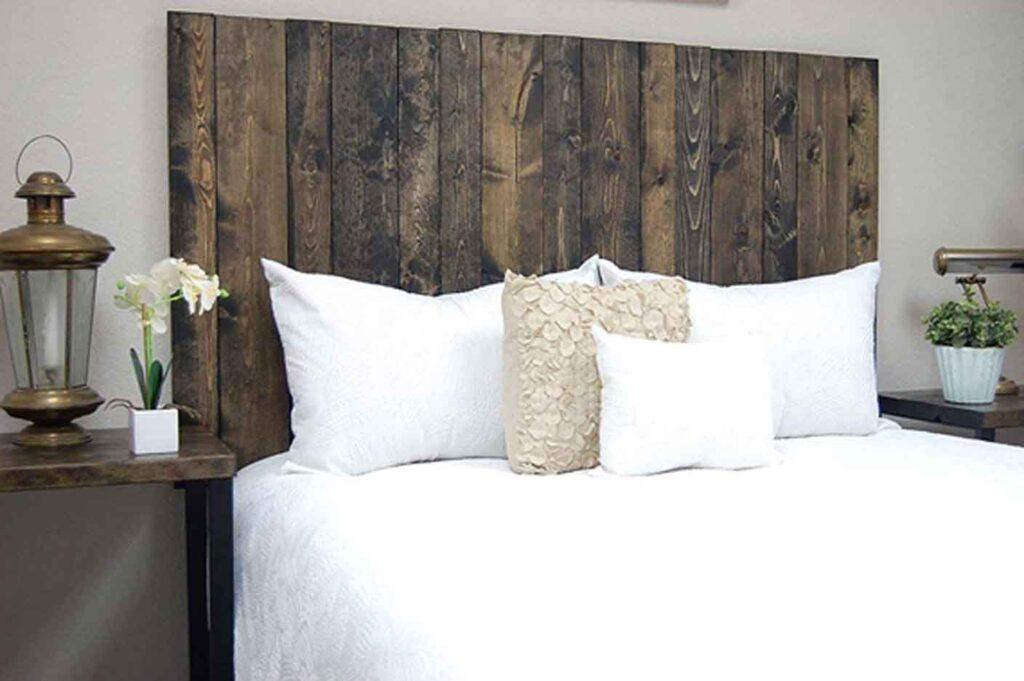 Wood Frame Bed