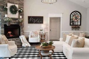 Classic-Modern Farmhouse Decor