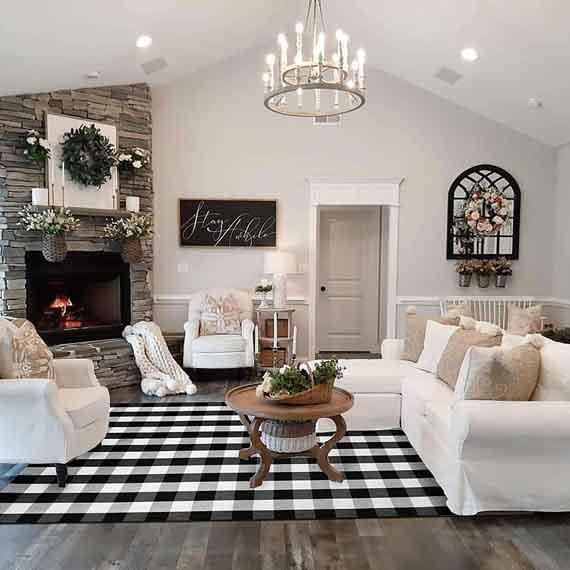 Classic-Modern Farmhouse Decor