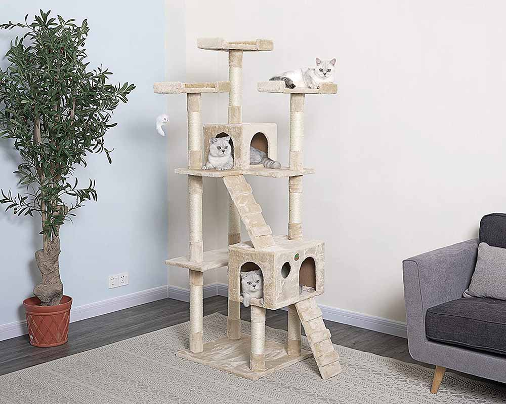 Go Pet Club 72 Cat Tree-2