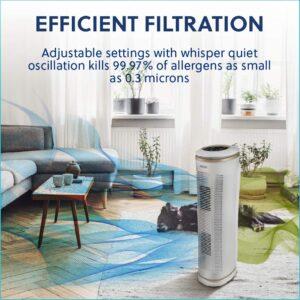 HoMedics TotalClean PetPlus HEPA Air Purifier