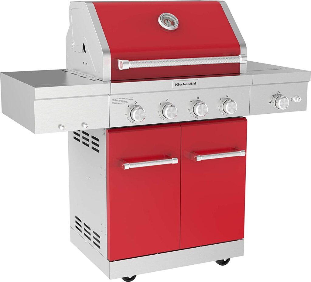 KitchenAid-4-Burner-Propane Gas Grill-2