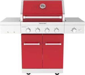 KitchenAid-4-Burner-Propane Gas Grill