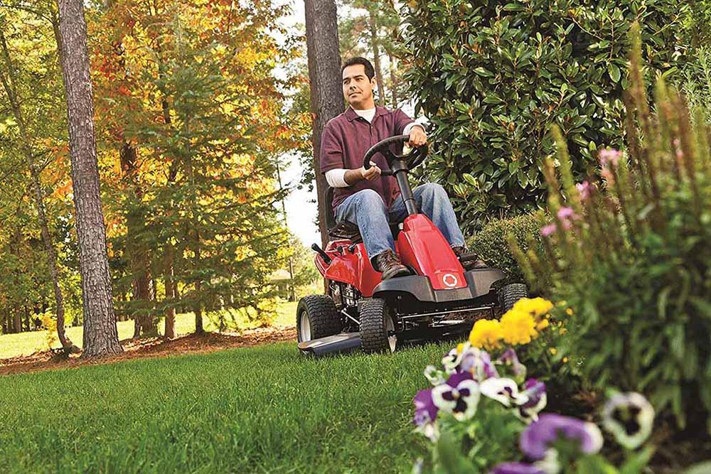Troy-Bilt 382cc 30-Inch Riding LawnMower-2