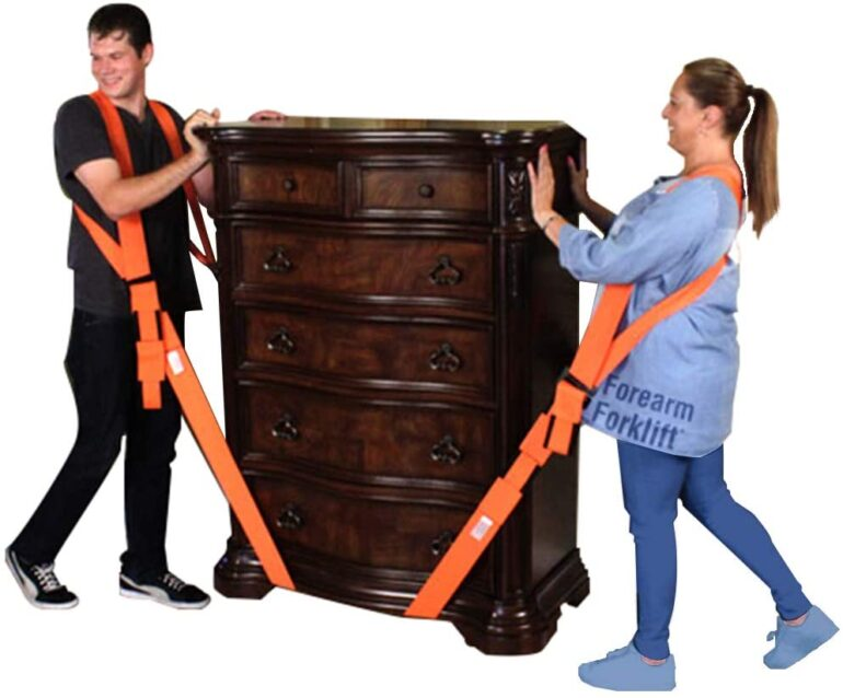 Shoulder Lifting and Moving System For Furniture