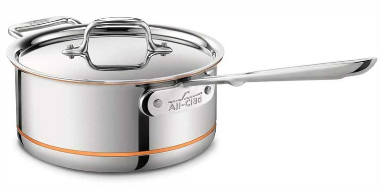 All-Clad sauce pans
