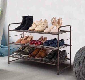 Auledio 3 Tier Shoe Rack
