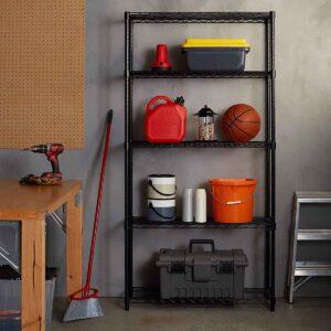 Basics adjustable 5 shelves