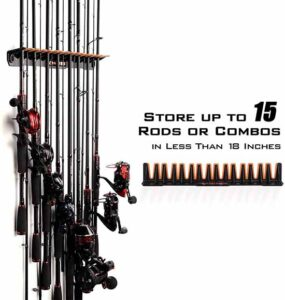 Fishing Pole Holder and Rack