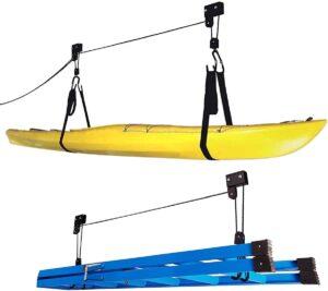 Kayak Hoist Set for Garage