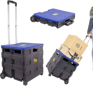 Quik Cart two Wheeled Collapsible Handcart