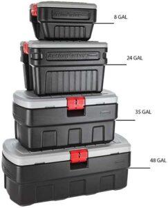 Rubbermaid Lockable Storage Bin