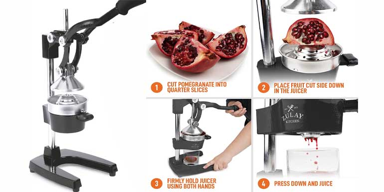 Zulay Professional pomegranate Juicer