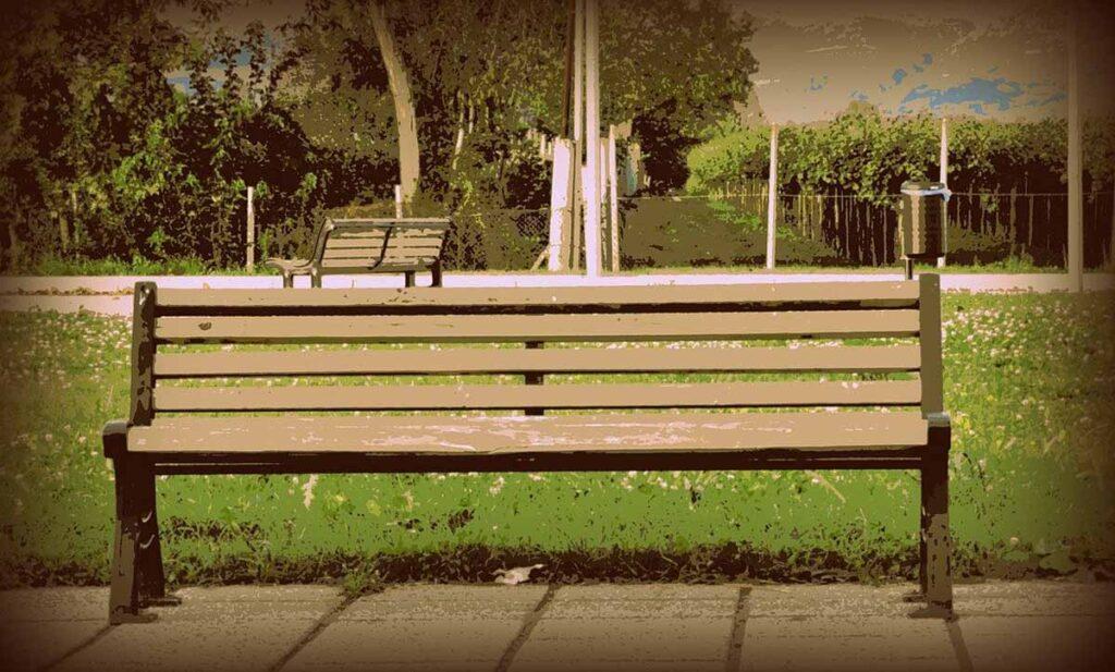 simple garden bench ideas