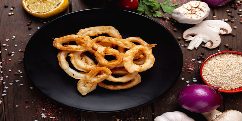 Cooking frozen Onion with air fryer